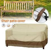 Patio Furniture Sofa Loveseat Cover Waterproof Outdoor Protection Bench Cover