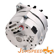Alternator For Chevy 105 Amp Delco 10si Self-exciting 12v High Output One 1 Wire