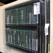 Lot Of 50 Major Brand 2gb Ddr2 800 Pc2-6400 Laptop Sodimm W/ Tray Fully Tested