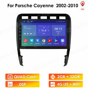 Android10 9 4-core Car Stereo Radio Gps Navi For Porsche Cayenne 2002-2010 32gb