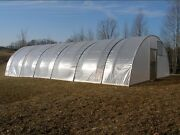 Quonset Greenhouse 16' X 48' - High Tunnel Cold Frame Kit - Free Shipping