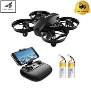 Mini Drone With Camera Real Time Fpv 2.4g 6 Axis Rc Portable Quadcopter Remote