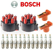 1990-1998 Porsche 911 3.6 Bosch Tune Up Kit Distributor Rotors And Caps And Plugs