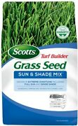 Scotts Turf Builder Grass Seed Sun And Shade Mix Seeds Up To 8,000 Sq. Ft., 20 L