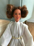 Vintage Star Wars Kenner Productions 1978 Princess Leia Doll W/outfit