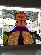 Leaded Window Stained Glass Style