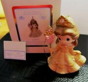 Disney Precious Moments Belle Ornament Your Beauty Shines Within New