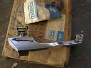 Nos Oem Ford 1961 1962 1963 Lincoln Continental Door Handle Chrome Trim