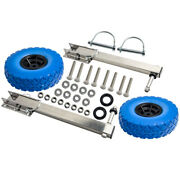 Boat Transom Launching Wheel Dolly For Inflatable Boat Dinghy Easy Transport