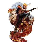 One Piece Log Collection Large Statue Series Sanji Bandai Pls Ship From Japan