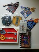 New Disney Store Bundle Of Collectable Keys And Pins Mystery Donal Duck Stitch Up
