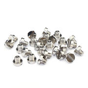 1/4-20x5.5 Slotted Cheese Head Machine Screws Stainless Steel 303 Screw Bolt