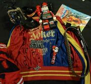 Harley Quinn Suicide Squad Lot Of Clothes Women's Accessories And Much More...