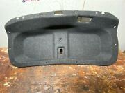 17-20 Infiniti Q60s Red Sport 400 Oem - Coupe Trunk Mounted Trim Panel Cover
