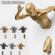 Running Sculpture 3d Industrial Style Resin Living Room Decoration Wall Hanging