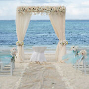 4 Post 10ft Diy Adjustable Wedding Backdrop Stand Outdoor Canopy Tent Chuppah