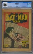 Batman 11 Cgc Cover-less Classic Joker Cover And Story