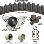 Dayco Wp322k1bs Engine Timing Belt Kit With Water Pump For 01 Hyundai Xg300