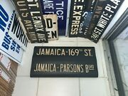 Ny Nyc Subway Roll Sign Queens Jamaica 169 Street Parsons Blvd Lirr Union Hall
