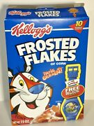 Kellogg's Frosted Flakes With The Simpsons Bart Action Watch By Mail Offer 2002