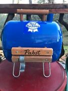 Vintage Pabst Blue Ribbon Grill And Cooler Beautiful Great For Summer