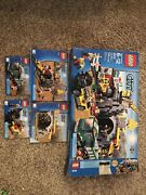 Lego City The Mine 4204 - Box And Instructions - No Pieces Or Figures