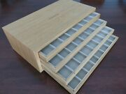 Luminor Wooden Strap Holder Drawer Factory Display Holds 32 Straps Rare