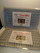 24 Disposable Aluminum Grill Liner Sheets Kt's Clean Bbq 12 X 20 New Sealed Pkg