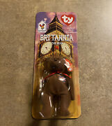 Britannia Rare Collectible Beanie Baby -new Never Opened