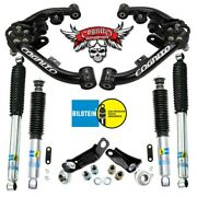 Cognito Bj Control Arm Level Kit 03-09 Hummer H2 W/ Bilstein Shocks And Pitman Arm