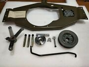 Jeep Willys Mb Gpw Ww2 G503 Capstan Winch Fitting Set Only Joint Shaft Missing