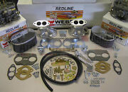 Weber Carburetor Kit Vw Bug And Type 1 Dual 40 Idf - Tuned For Vw Air Cooled