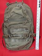 Archangel Armor Coyote Brown Tan Day Pack Assault Backpack Bag Made U.s.a.