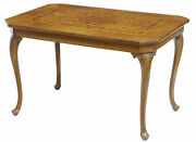 Early 20th Century Italian Walnut Sorrento Parquetry Inlaid Side Table