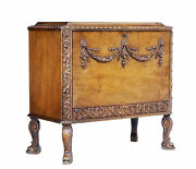 Mid 20th Century Rococo Revival Carved Walnut Chest Of Drawers