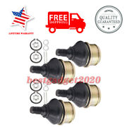 4 X Ball Joint Kits-lower And Upper Jo1555bj105hy For Honda Trx400fa 2004-2007 Usa