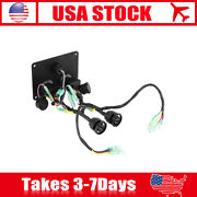 Dual Key Ignition Twin Switch Panel For Yamaha Outboard Motor Yacht 6k1-82570