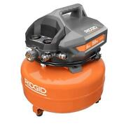 6 Gal. Portable Electric Pancake Air Compressor Includes Power Cord