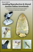 Book Avoiding Reproduction Arrowheads By Jim Bennett How To Identify Fakes