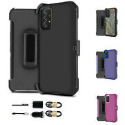 Bundle+ For Samsung Galaxy A32 A52 A72 5g Holster Shockproof Built In Screen
