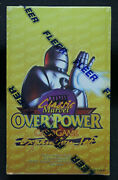 1997 Marvel Overpower Classic Expansion Sealed 36 Pack Box Very Low Production