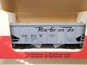 Mdc / Roundhouse Rio Grande 2-bay Covered Hopper 18325 D And Rgw G Scale