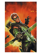 Justice League | The Green Arrow Movie Poster Print