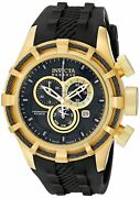 Swiss Made 15786 Reserve Bolt Chronograph 18k Yellow Gold Pl Menand039s Watch