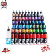 Solid Ink Tattoo Color Ink 1 Oz 30ml Bottle 100 Authentic Free Shipping