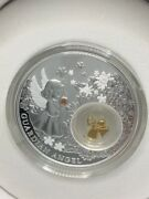 2014 Niue 2 Silver Gold-plated Coin - The Guardian Angel