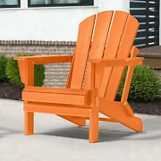 Adirondack Chair Folding Patio Outdoor Poly Seat Lounge Garden Deck Uv Protected