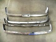 1970and039s Toyota Chrome Bumper Lot Of 4 One Is New Oem Others Super Nice Used