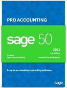 Sage 50 Pro 2021 U.s. Business Accounting Software Dvd