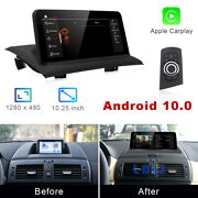 8-core Android 10 Car Gps Navigation Video Wireless Carplay For Bmw X3 2004-2010
